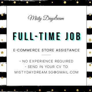 Store Assistant Full Time Job