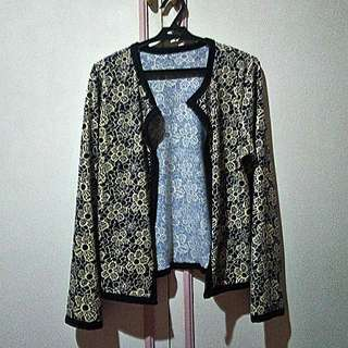Long Sleeve Floral Cover-up