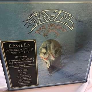 Eagles - Their Greatest Hits Vol 1&2 LP 180 gram vinyl