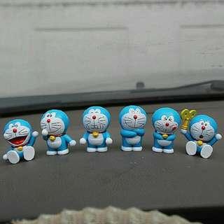 Pajangan Isi 6 - Doraemon