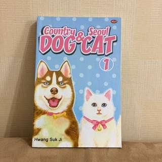 Komik Manhwa Country Dog & Seoul Cat