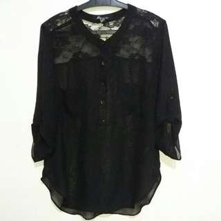 Forever 21 Chiffon Longsleeves