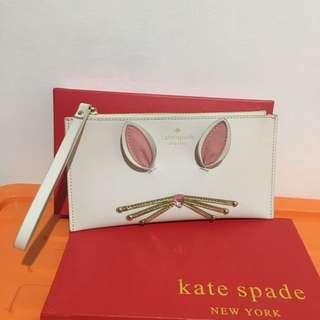 Kate Spade Bunny Clutch