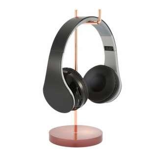 Metallic Acrylic Base Headphone Stand Holder