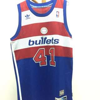 NBA華盛頓子彈隊 Wes Unseld #41 球衣