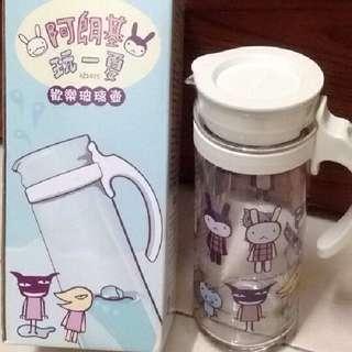 全家阿郎基歡樂一夏 水壺+杯子