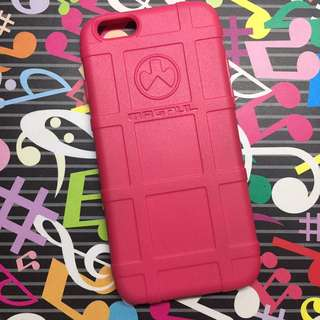 Pink rubber iPhone 6 case