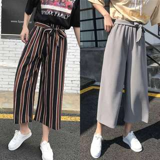 BNWT STRIPES / GREY CULOTTES