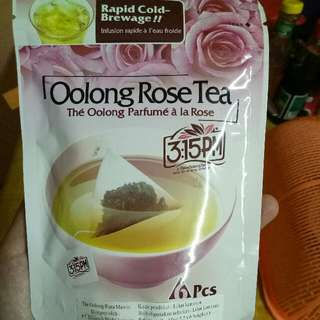 Oolong Rose Tea 3:15 PM