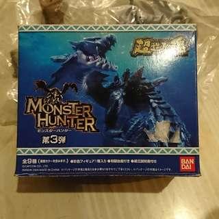 鎌蟹 鐮蟹 岩龍頭殼 螺殼 魔物獵人 Monster Hunter 造形模型 玩具盒蛋 超造形魂 vol. 3 第三彈 Bandai Capcom Figure 全新未開袋 MH MHX MHXX 絕版 罕有