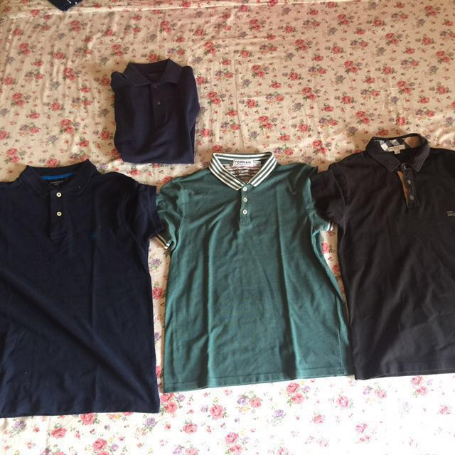 3 Polo shirt bundle (small size)