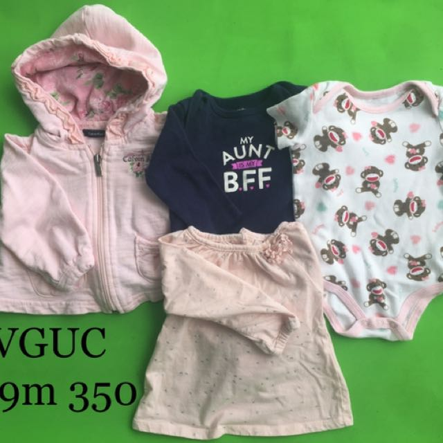 6-9m baby girl clothes w/ jacket
