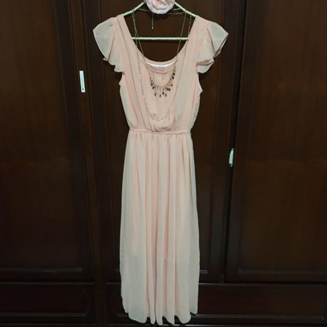 雪紡仙氣洋裝#兩百元雪紡