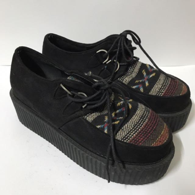 古著厚底鞋