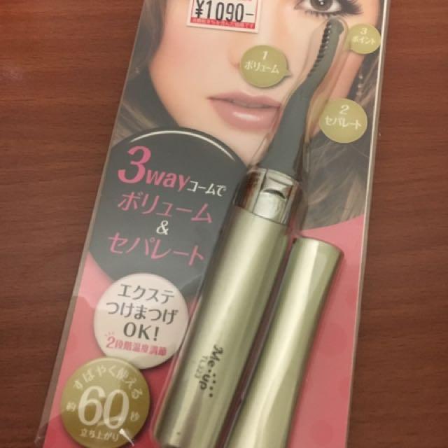 日本購入燙睫毛器