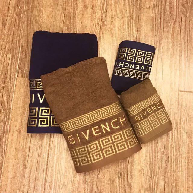 專櫃贈品紀梵希毛巾飯店毛巾