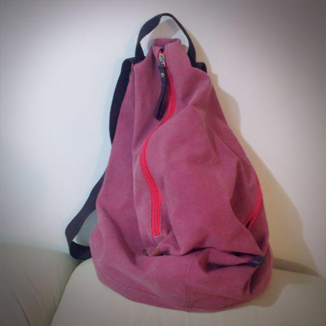 隨性風時尚後背包 #可換物