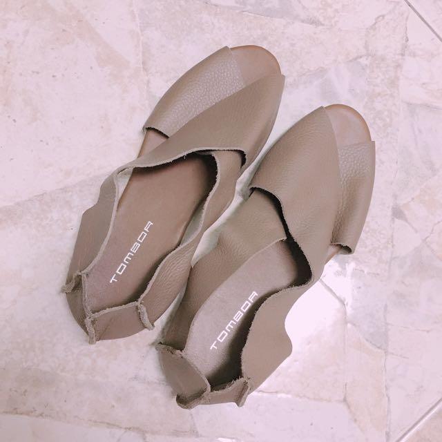 正韓貨 韓國 真皮涼鞋