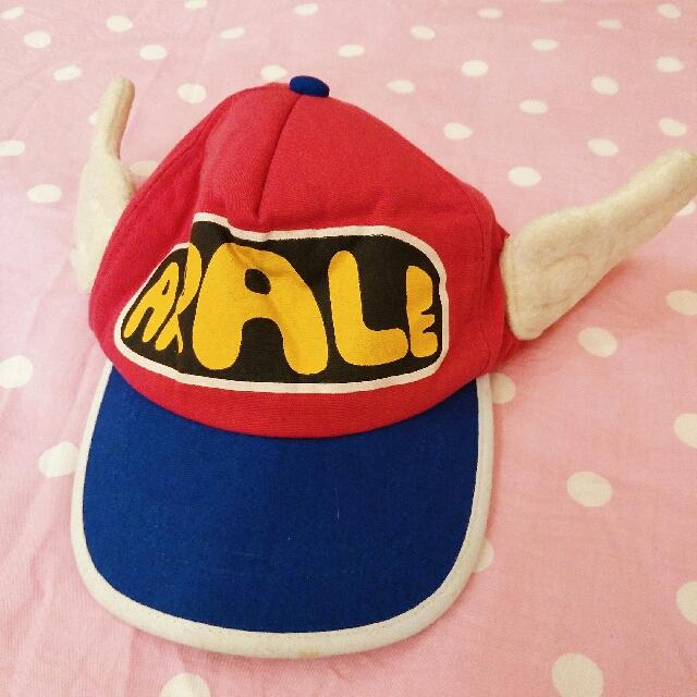 丁小魚 帽子 翅膀 鴨舌帽 棒球帽