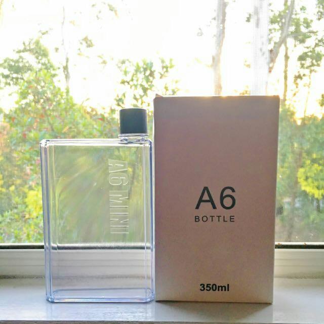 A6 Flat Drink Bottle