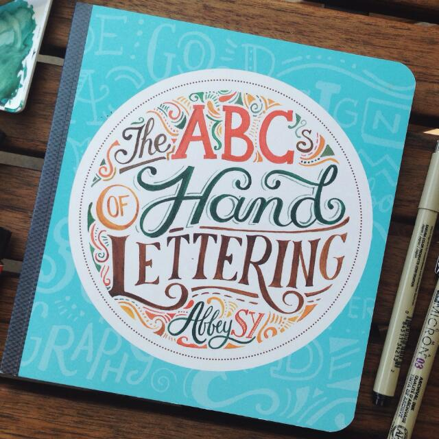 ABC Handlettering by Abbey Sy