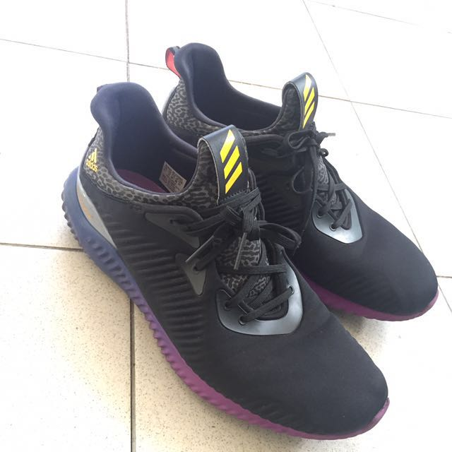 Adidas Alphabounce 1st edition Black Purple 561b616c4