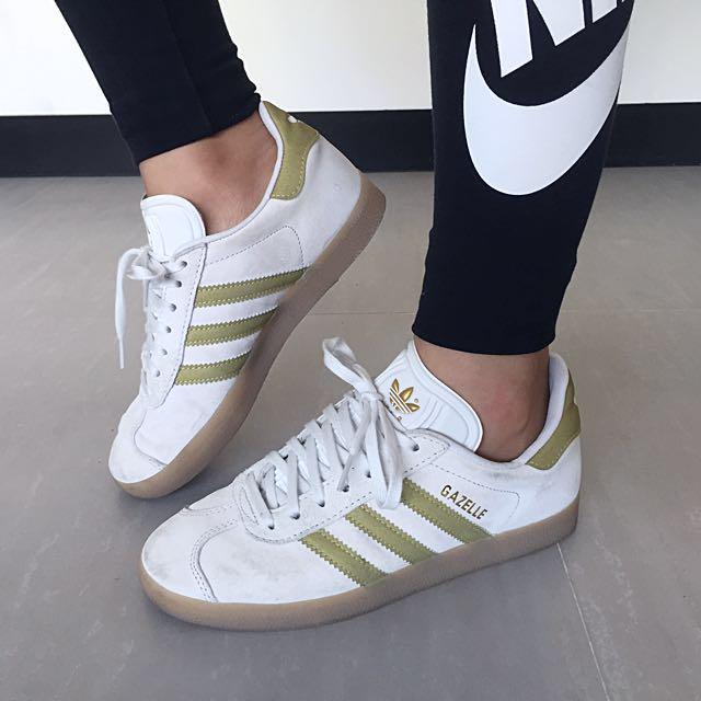 Adidas Gazelle 蘋果綠22.5