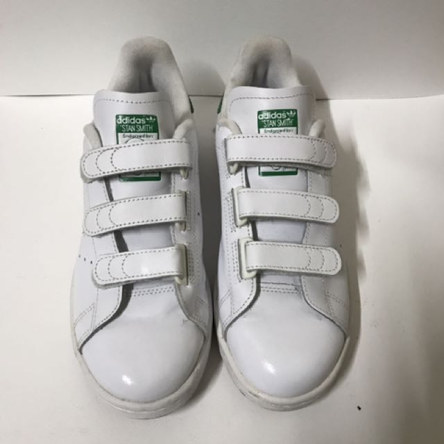 Adidas x stan smith 綠 板鞋
