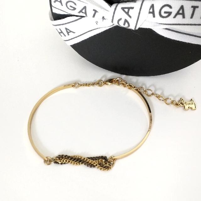 Agatha Paris Gold Bracelet