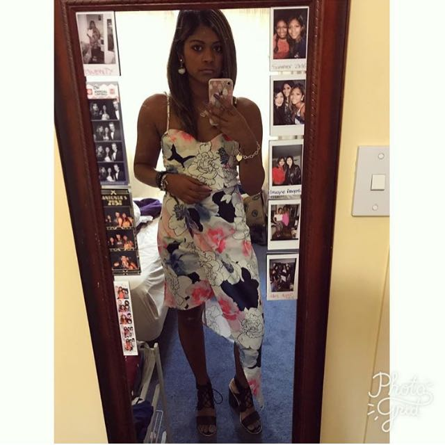 Ally floral dress