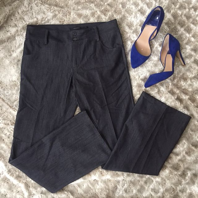 Apple and Eve Dark Blue Tailored Pants size L