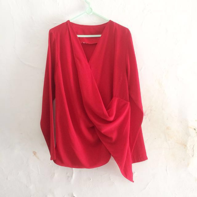 Atasan / Top red