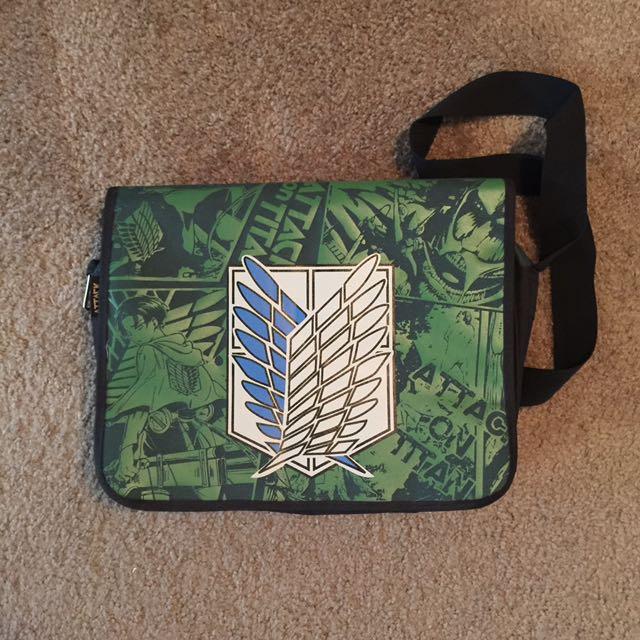 Attack on Titan Scouting Legion Messenger Bag