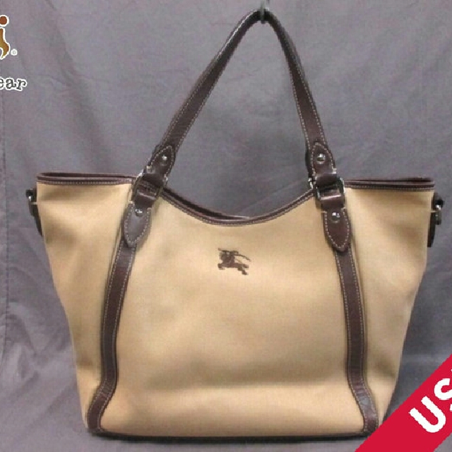 1bc8081dee12 Authentic Burberry Tote Bag Canvas