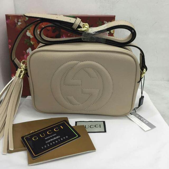 18ae5ef119d Authentic Gucci Sling Bag Leather