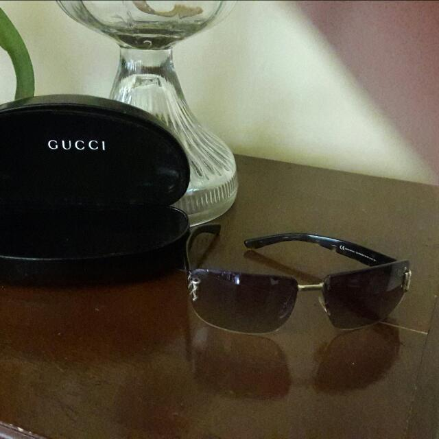 Authentic Gucci  With Scratches