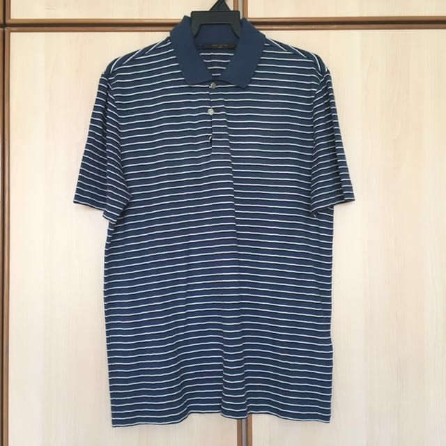 afb2309c Authentic Louis Vuitton Polo Shirt, Luxury, Apparel on Carousell