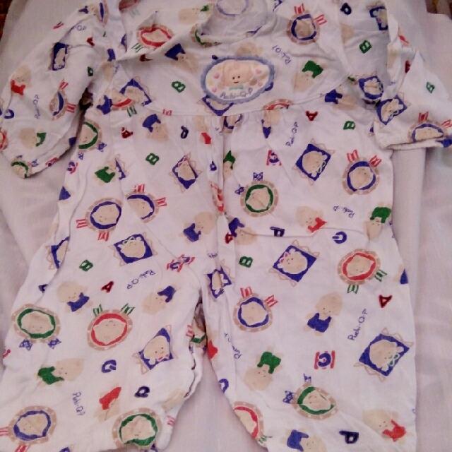 Baby Overall Sleepwear 6-12mos