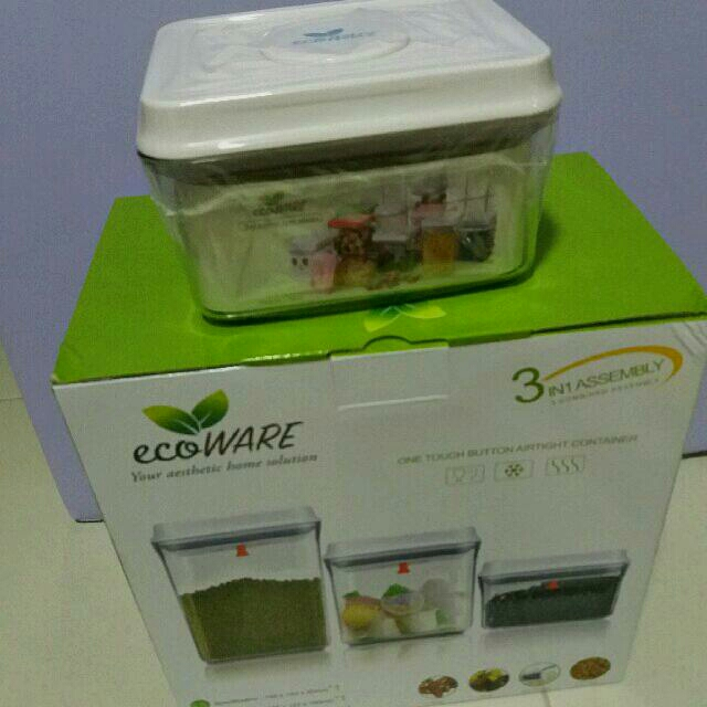 BN Ecoware Sealed BPA-Free Air Tight Container 700ml