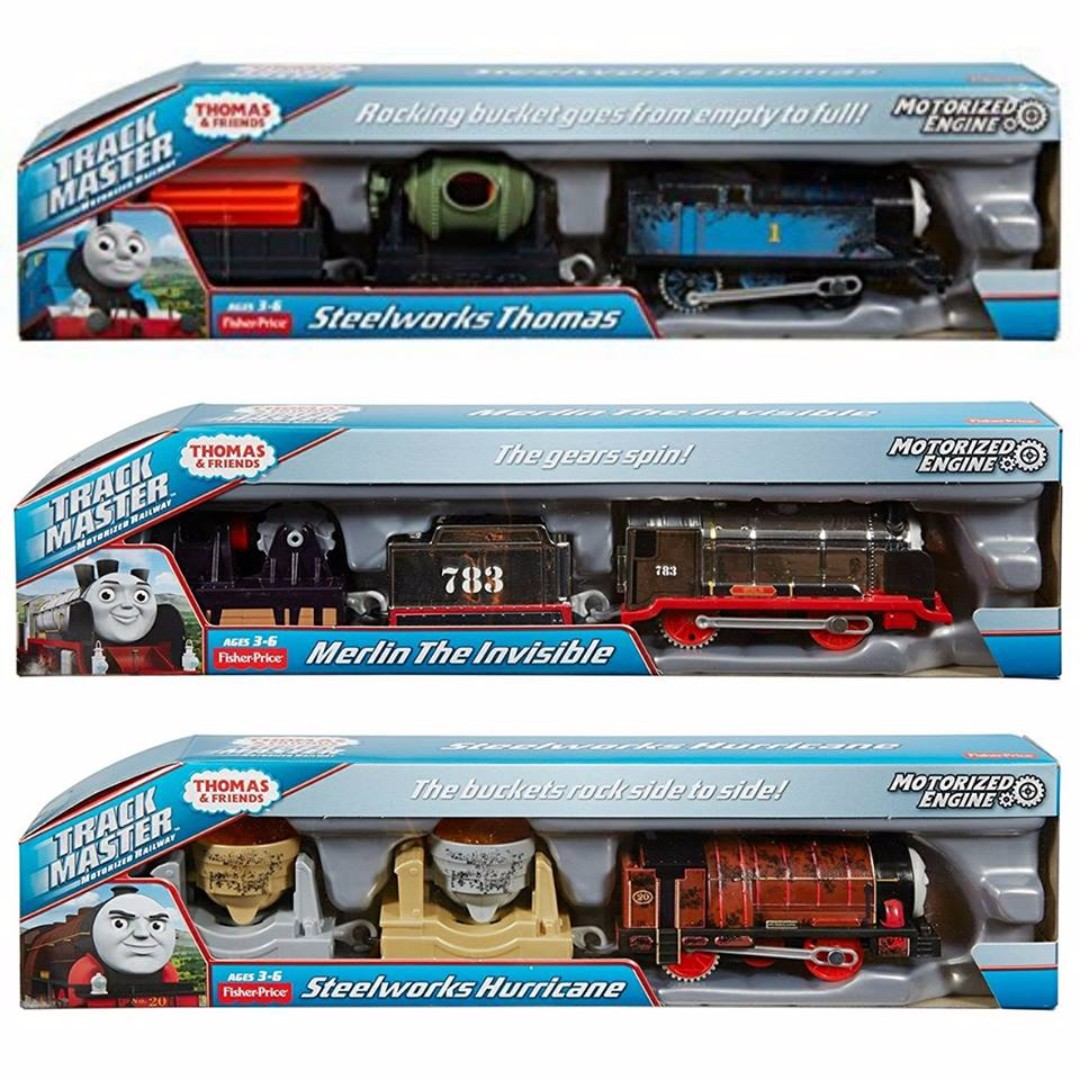 Bnb fisher price thomas friends trackmaster motorized for Thomas friends trackmaster motorized railway