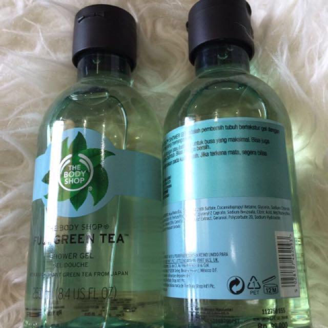 Body Shop Fuji Green Tea Shower Gel 250ml
