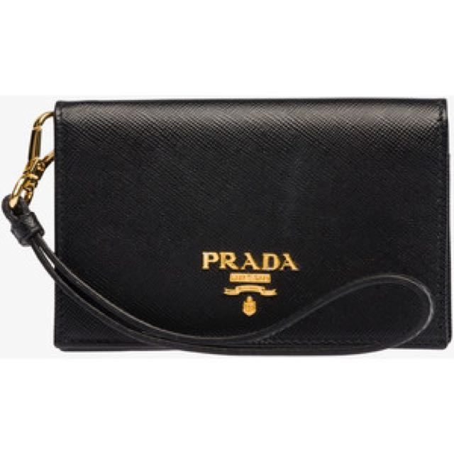 c429148fd68d Brand New Authentic Prada Credit Card Wristlet, Luxury, Bags ...