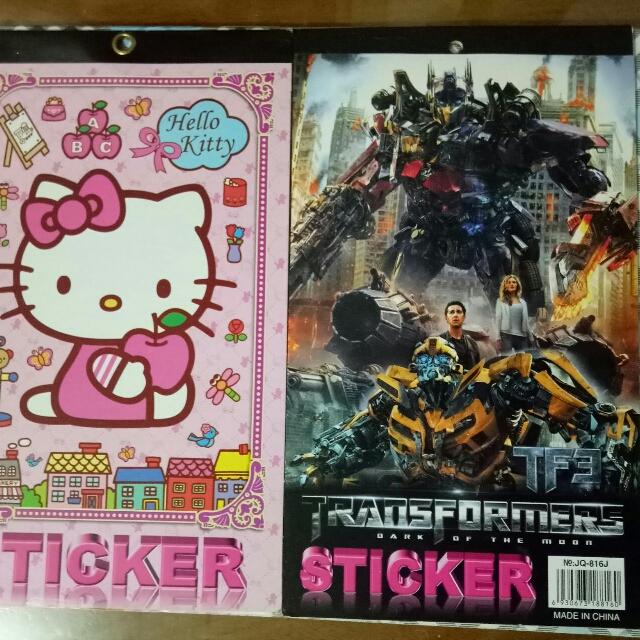 Buku Sticker