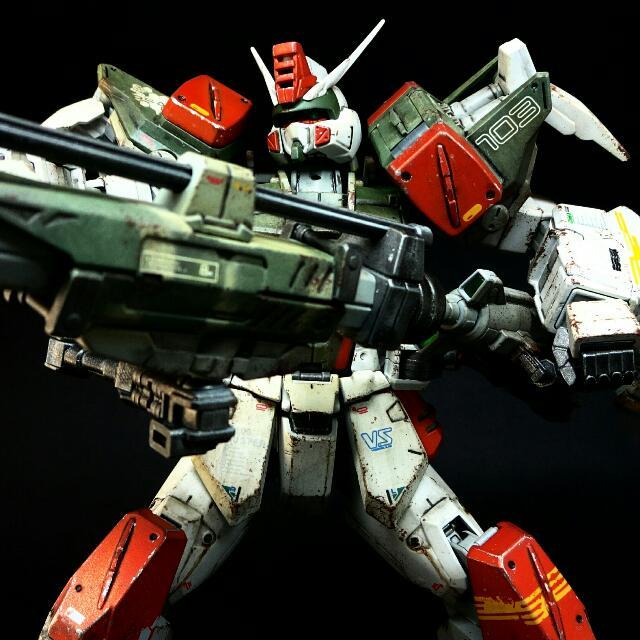 Painted Buster Gundam Build