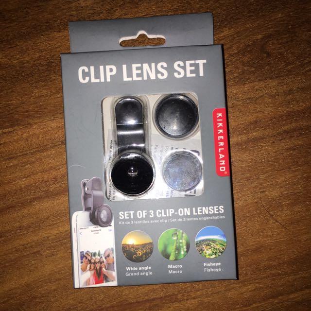 Clip Lens For Phone Cameras
