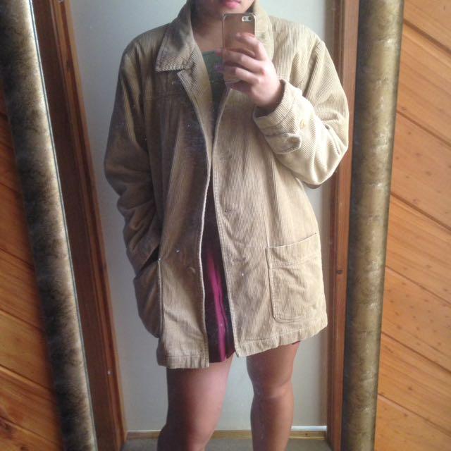 Cord jacket