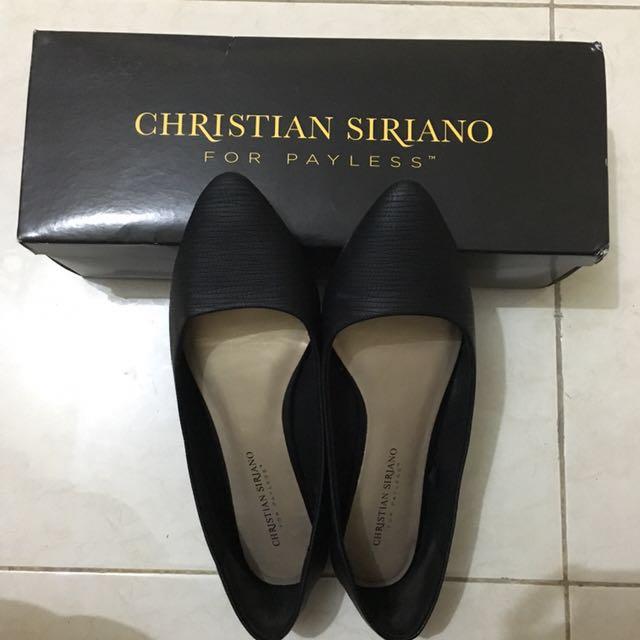CS Flatshoes Black