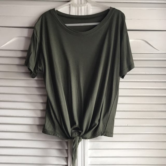 Dark Olive Green Shirt