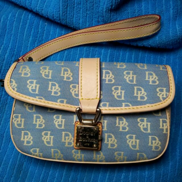 SALE!!!!  P750. DOONEY AND BOURKE FLAP WRISTLET