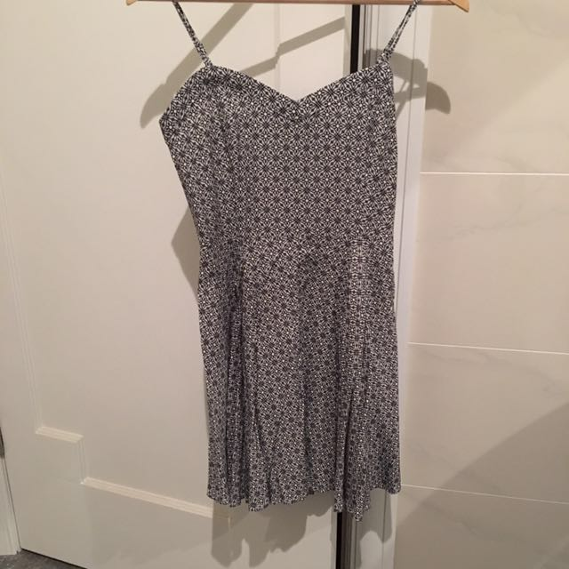 FACTORIE summer dress black and white